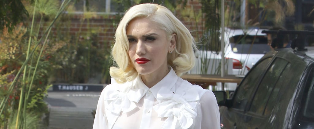 Gwen Stefani Gives Off Major Marilyn Monroe Vibes While Out and About in LA