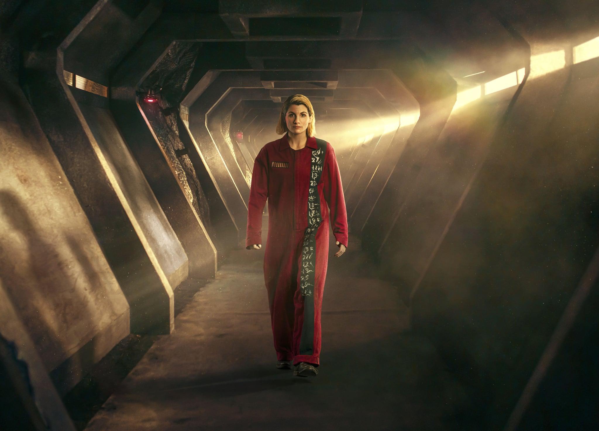 نام برنامه: Doctor Who Special 2020 - Revolution Of The Daleks - TX: 01/01/2021 - قسمت: Doctor Who Special 2020 - Revolution Of The Daleks - مواد عادی (شماره n / a) - نمایش های عکس: دکتر (JODIE WHITTAKER ) - (C) استودیو بی بی سی - عکاس: جیمز بخشش
