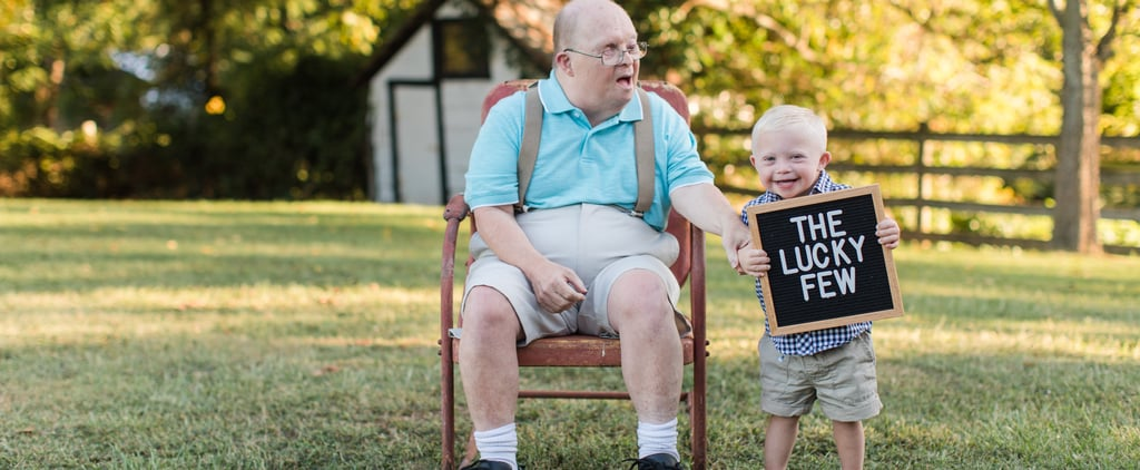 Man With Down Syndrome Has a Birthday Photo Shoot