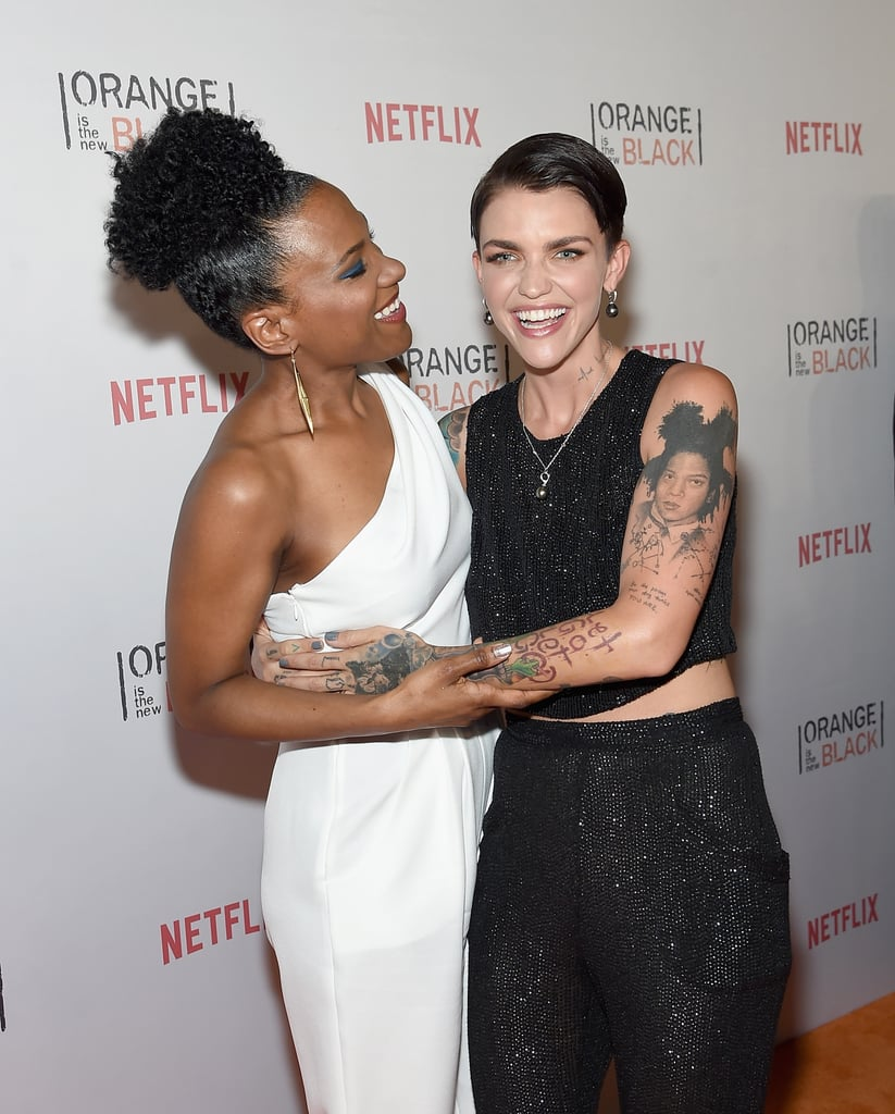 Ruby Rose OITNB Twitter and Instagram Pictures June 2015