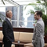 Ed Westwick as Chuck Bass and Robert John Burke as Bart Bass on Gossip Girl. Photo courtesy of The CW