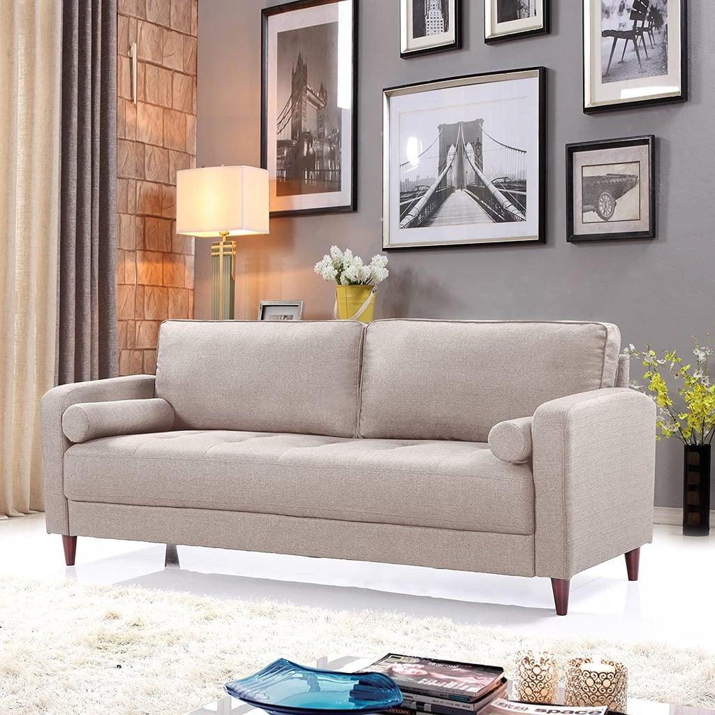 Divano In Memory Foam.Divano Roma Furniture Fabric Sofa Best Cheap Couches Popsugar Home Photo 5