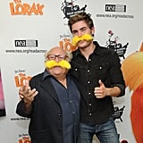 Danny DeVito and Zac Efron attended NEA's Read Across America Day at the New York Public Library today.