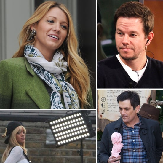 Pictures of Celebrities on Set For the Week of March 2, 2012