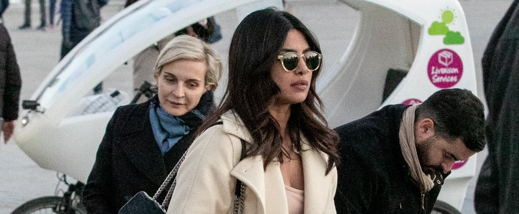 Priyanka Chopra's Saint Laurent Tote Bag November 2018