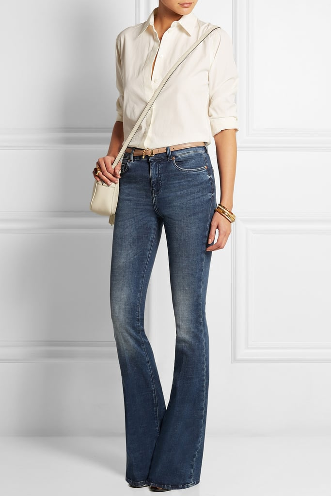 MIH The Bodycon Marrakesh High-Rise Flared Jeans, $378.80