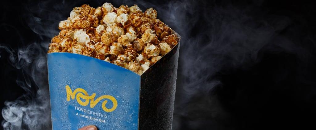 Frozen Popcorn at Novo Cinemas