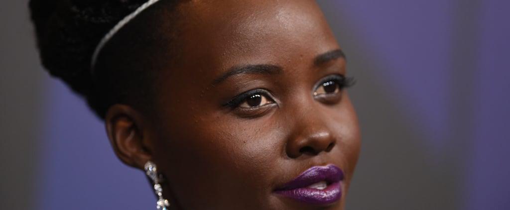 Lupita Nyong'o's Governors Awards Lipstick