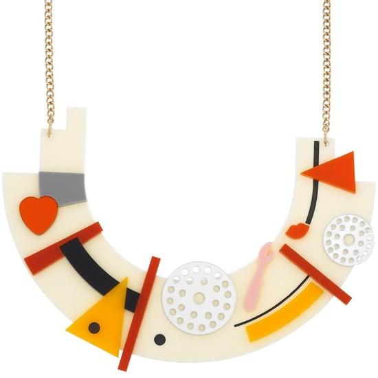 Tatty Devine Kandinsky-Inspired Necklace