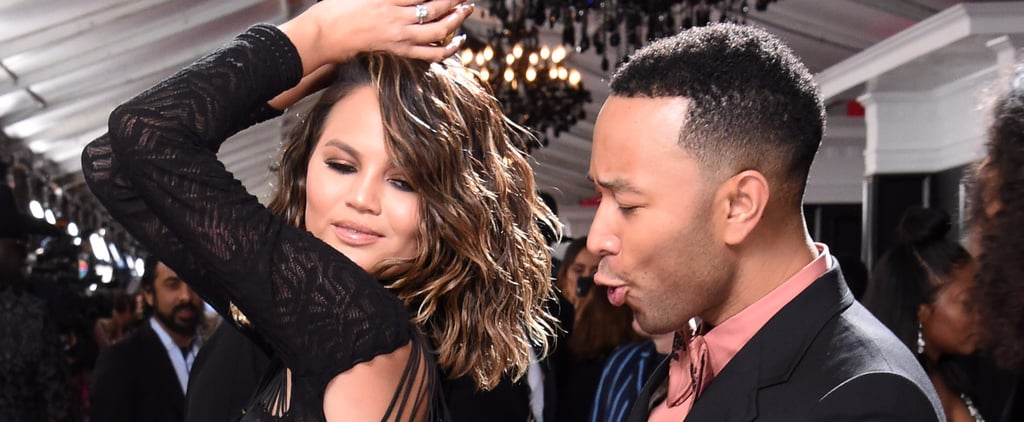 Things Got a Little Naughty Between Chrissy Teigen and John Legend at the Grammys