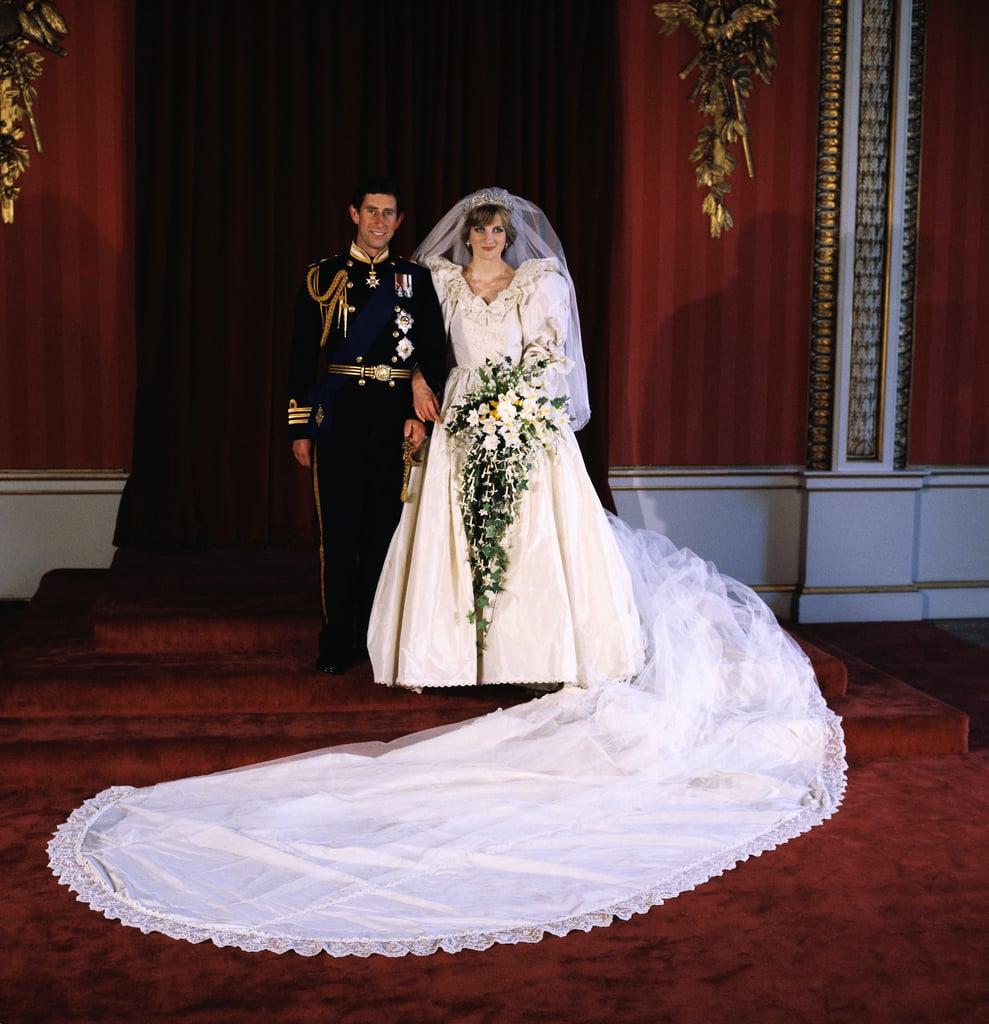 Princess Diana's Elizabeth and David Emanuel Wedding Dress