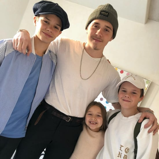 Victoria Beckham's Instagram Photo of Her Kids December 2017