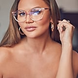 Quay Australia x Chrissy Teigen All Nighter Blue Light Blocking Optical Glasses