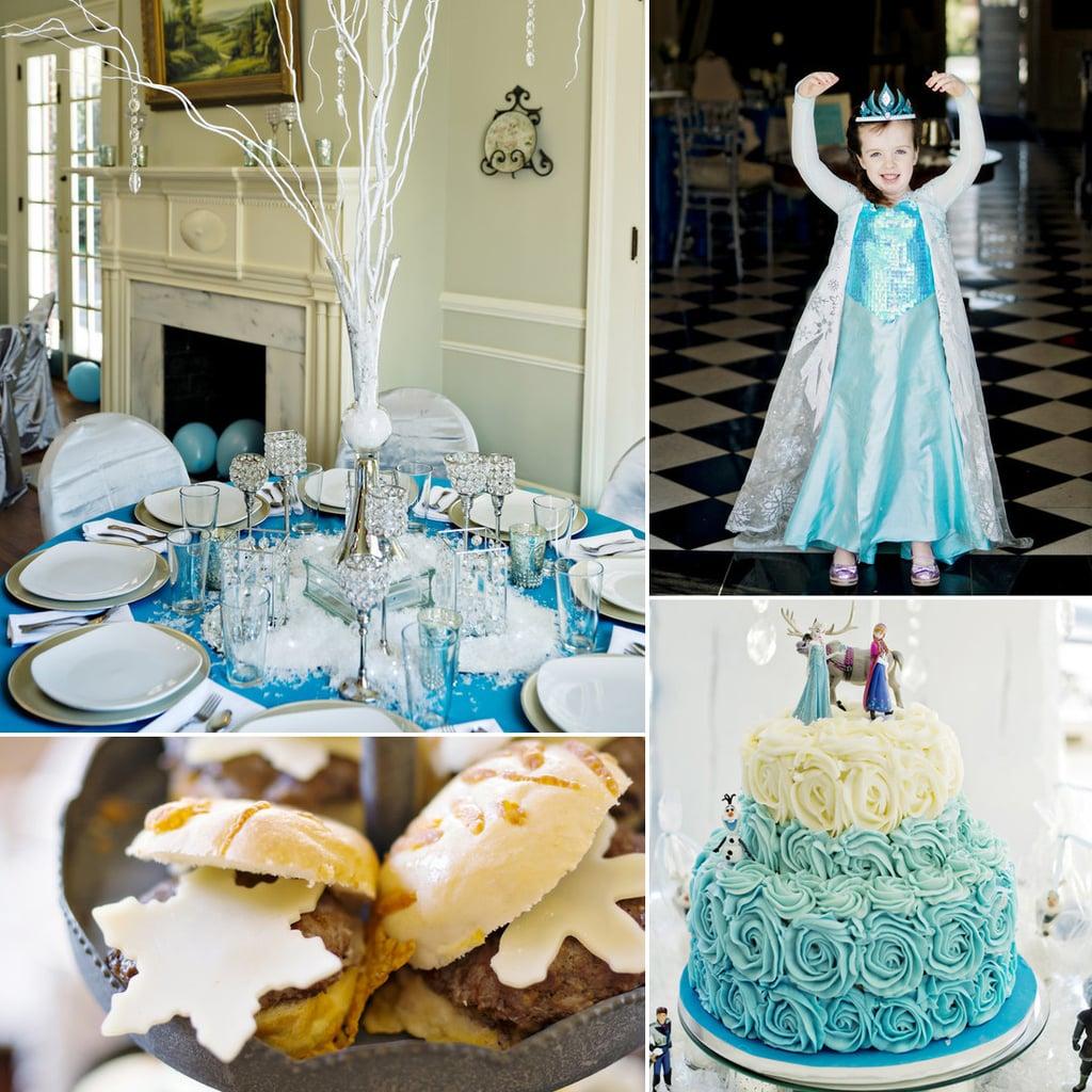 Frozen-Themed Birthday Party