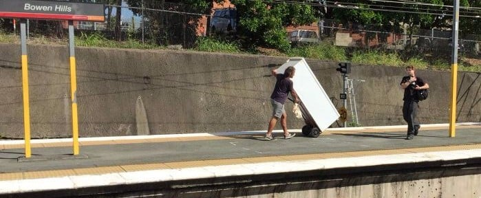 Twitter Has True Respect For the Guy Who Tried to Take a Fridge on a Brisbane Train