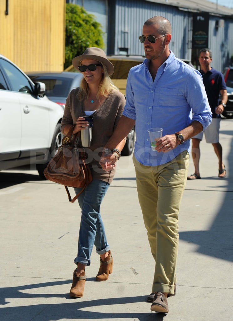 The couple were all smiles during a Sept. 2011 outing in LA.