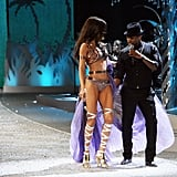 When Usher couldn't take his eyes (or hands) off Adriana Lima in 2008 . . .
