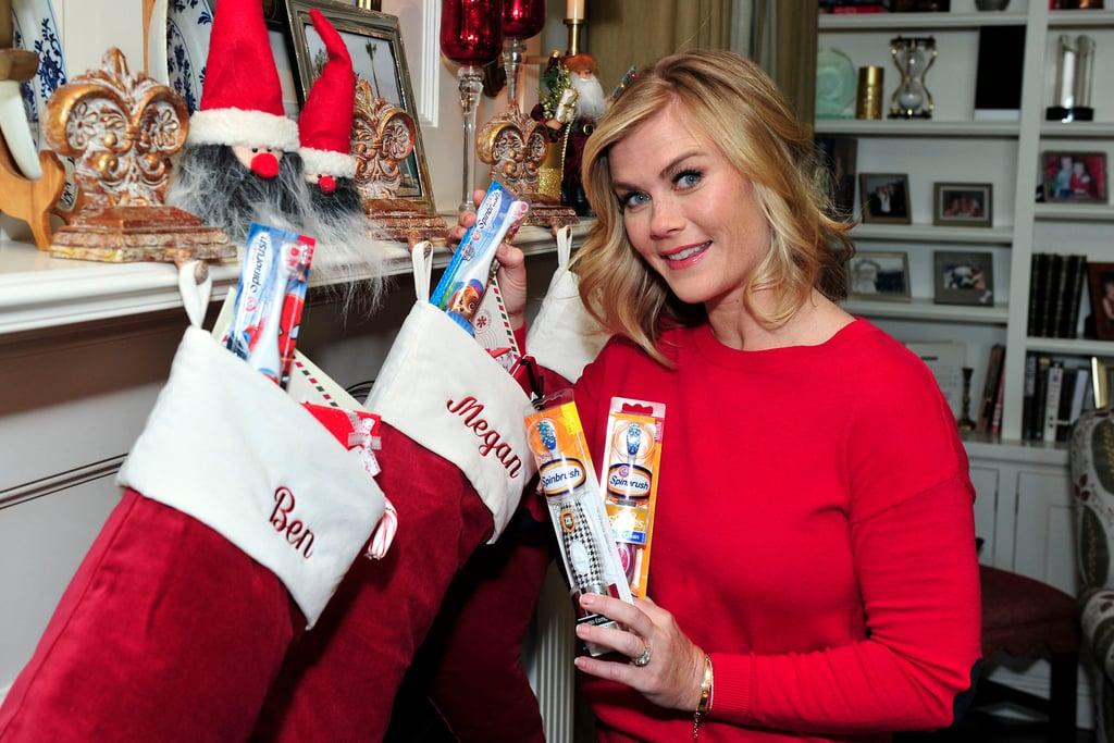 Alison Sweeney Holiday Gift Ideas 2016