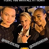 Cara Hung Out With Karlie and Jourdan Dunn After Hours