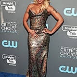 Mary J. Blige at the 2018 Critics' Choice Awards