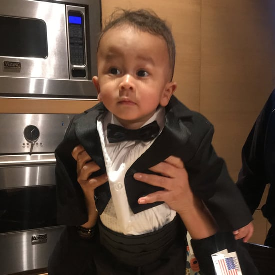 Chrissy Teigen Tweets Pictures of Her Son Miles in Tuxedos