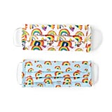 Uncommon Goods Children's Rainbow Face Coverings