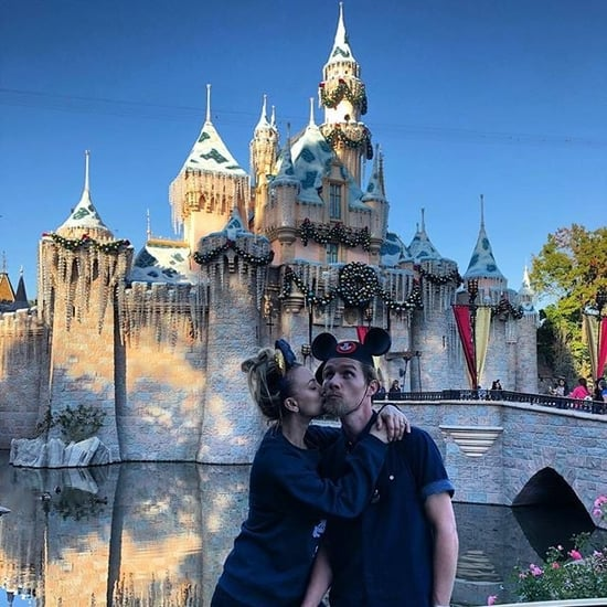 Kaley Cuoco and Karl Cook at Disneyland November 2018