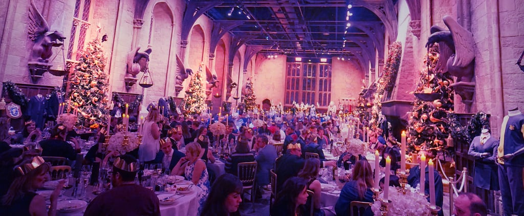 What It's Really Like to Have Dinner at Hogwarts's Great Hall
