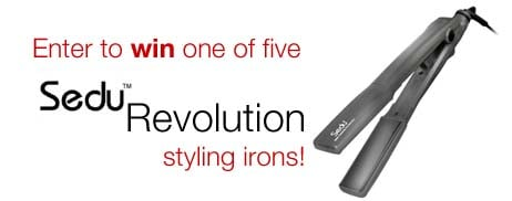 Five Readers Will Win a Sedu Revolution Styling Iron — Enter Now!