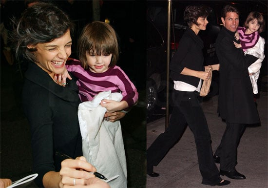 Photos of Tom Cruise, Katie Holmes, Suri Cruise in New York City
