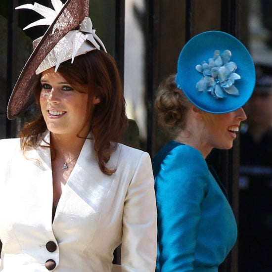 Princesses Beatrice and Eugenie Pictures at Zara and Mike's Wedding 2011-07-30 07:08:25
