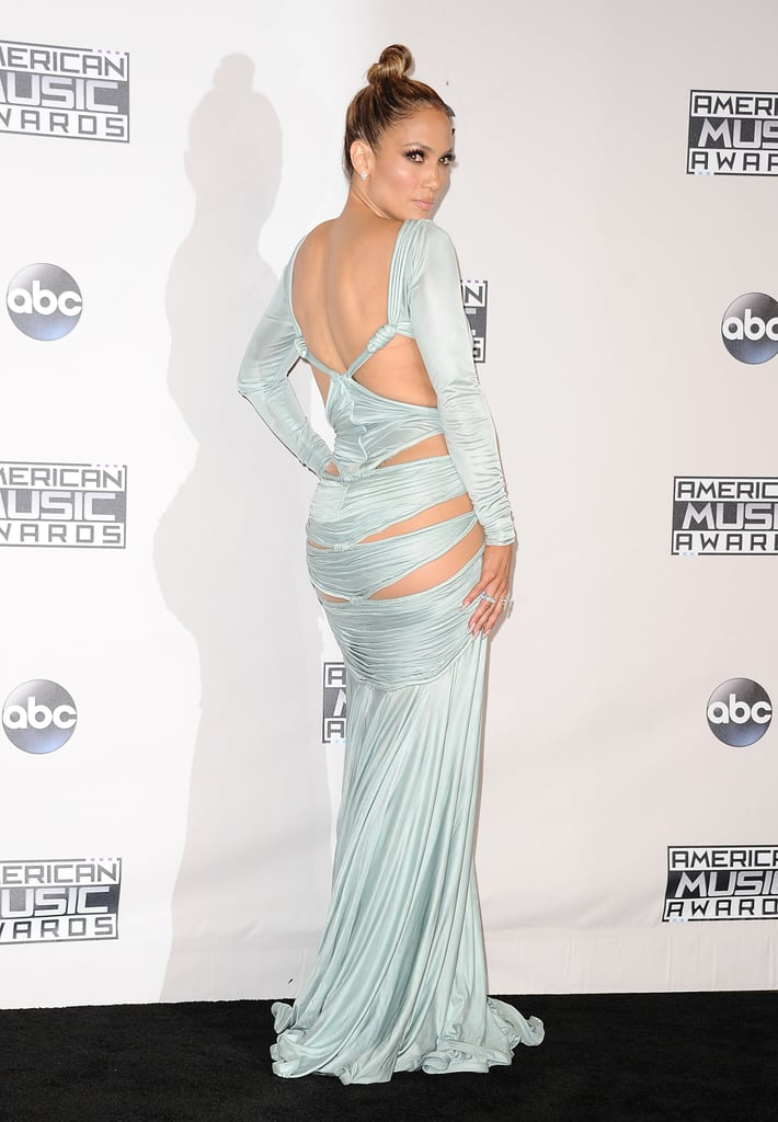 Jennifer Lopez Wearing Dresses With Beautiful Backs