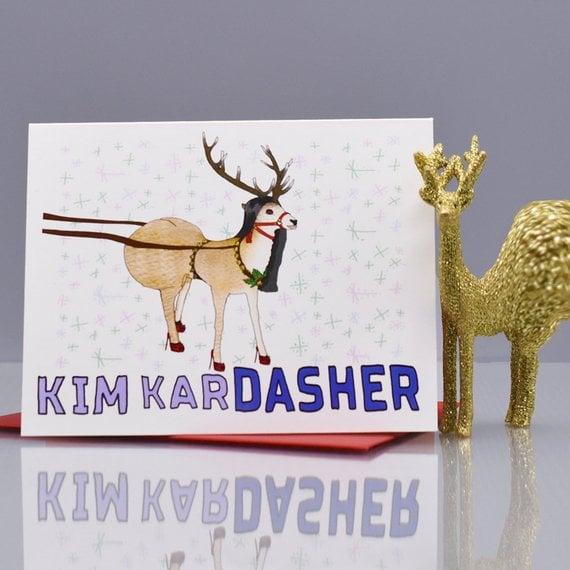 Kim Kardasher Card