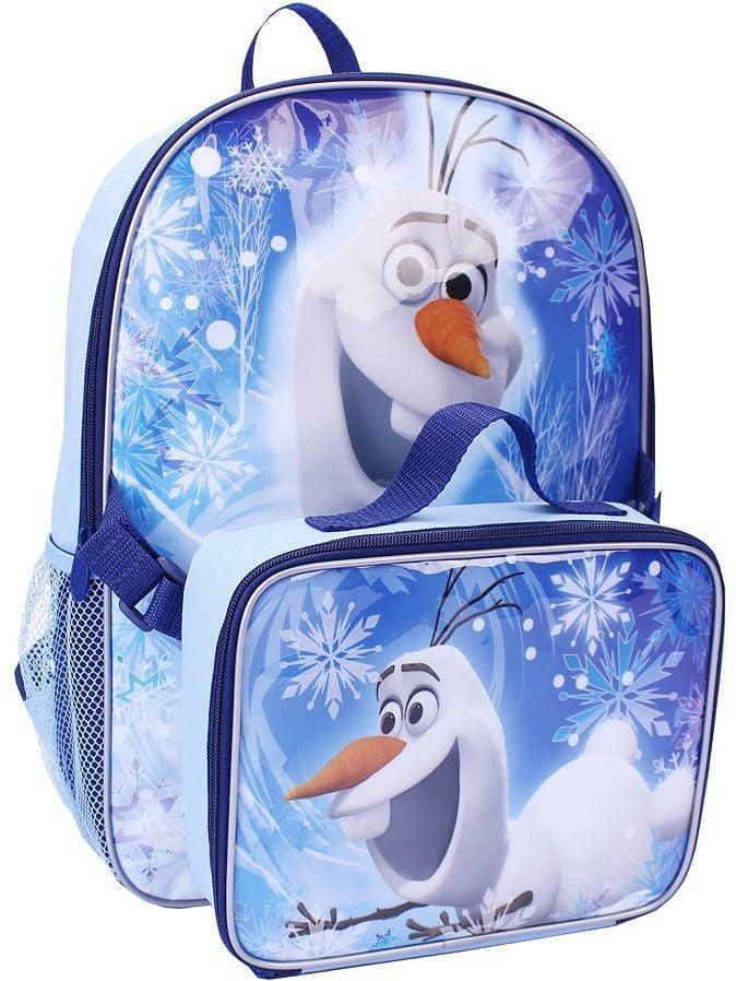 Frozen Olaf Backpack & Lunch Bag Set