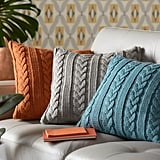 Ideal Home Knitted Cable Cushion