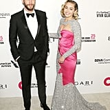 Miley Cyrus and Liam Hemsworth at the Oscars 2018