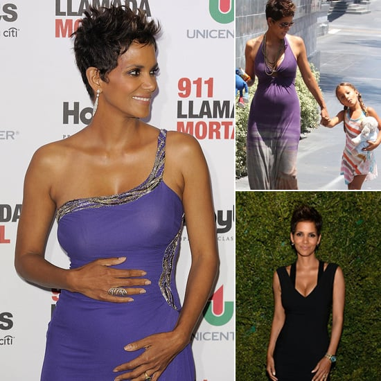 Halle Berry's Fit and Fabulous Maternity Style