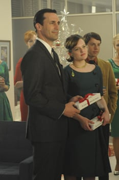 3991da576b79c Recap of Mad Men Episode Christmas Comes But Once a Year 2010-08-02  06:00:00 | POPSUGAR Entertainment