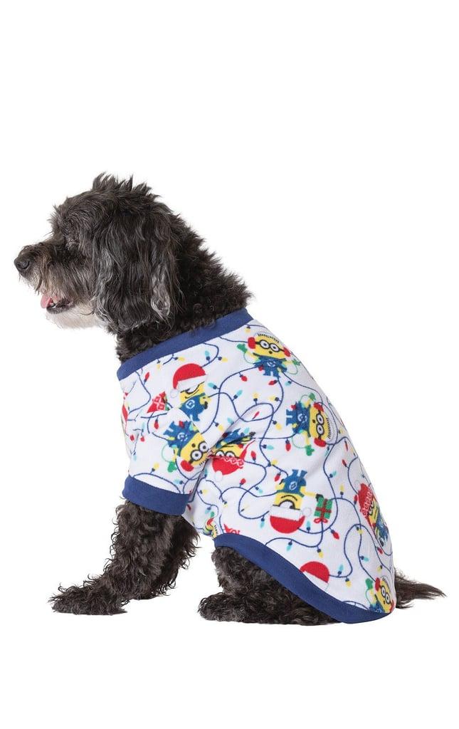 Pajamagram Minions Holiday Dog Pajamas