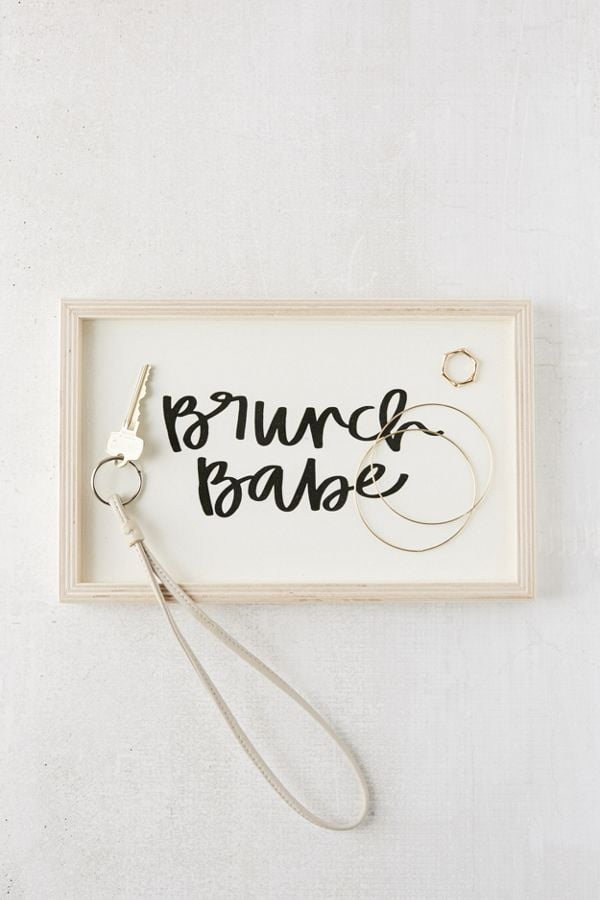 Chelcey Tate For Deny Brunch Babe Wooden Tray