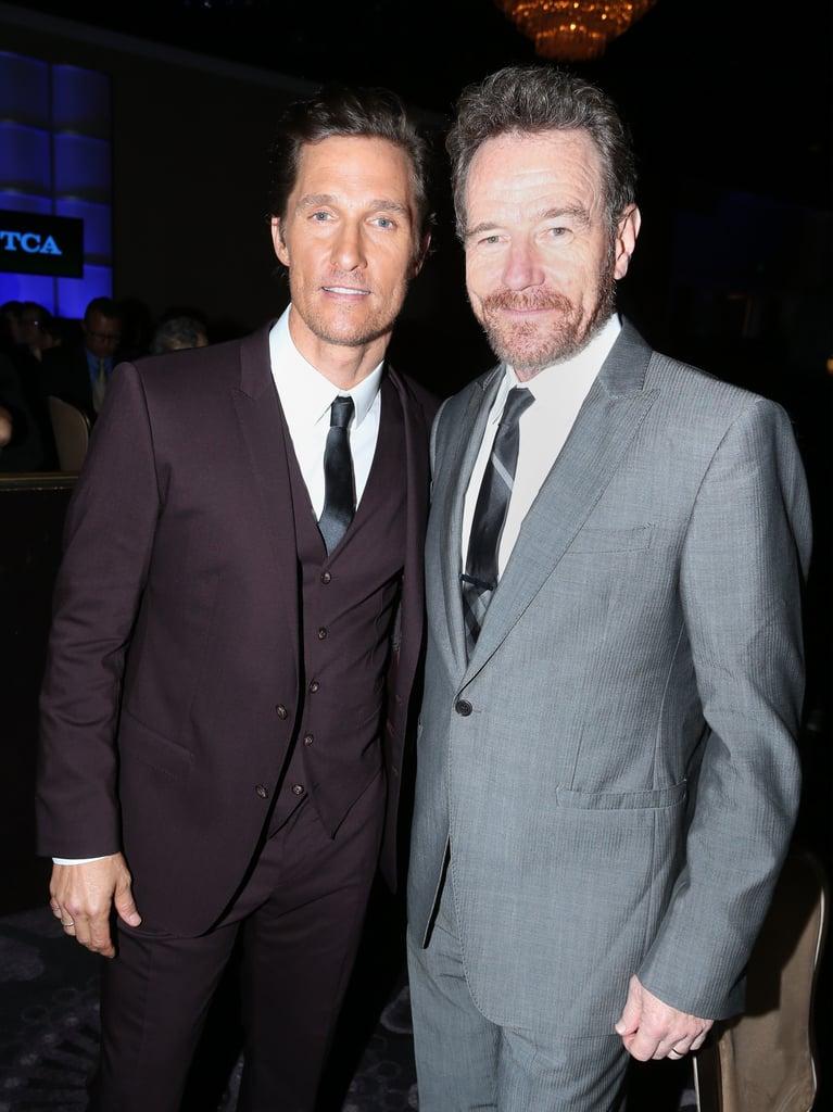 Matthew McConaughey and Bryan Cranston linked up.