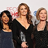 Penny, Stana, and Susan
