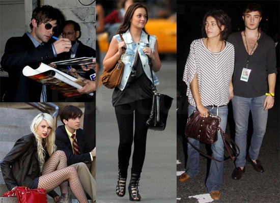 Photos of Leighton Meester, Chace Crawford, Ed Westwick, Taylor Momsen, Jessica Szhor in NYC Before Gossip Girl Premiere