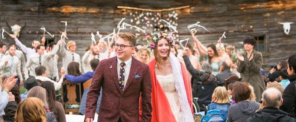 Festival-Inspired Barn Wedding