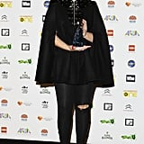 Caped crusader Sia receives her ARIA.