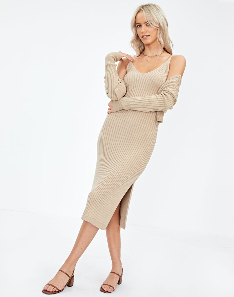Glassons Ribbed Knit Dress