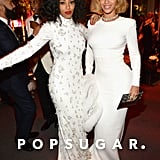 Solange and Beyoncé Knowles