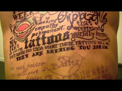 Twitter Tattoos From the Social Tattoo Project 2011-08-10 12:00:56
