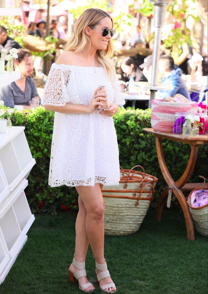 Lauren Conrad White Maternity Dress at Rebecca Minkoff
