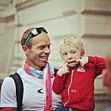 Kerri Lee Walsh snapped a photo of her son and husband enjoying their time in London. Source: Instagram user kerrileewalsh